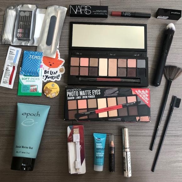 Smashbox Makeup Used Lot Nars Brushes Poshmark